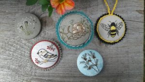 Magnetic Embroidery Buttons