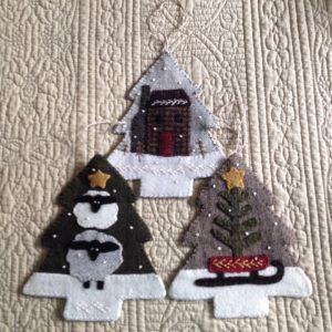Buttermilk Basin Tree Ornaments with Jill
