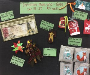 Christmas Make and Takes