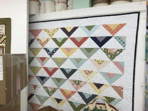 Jelly Roll Quilt (second group)