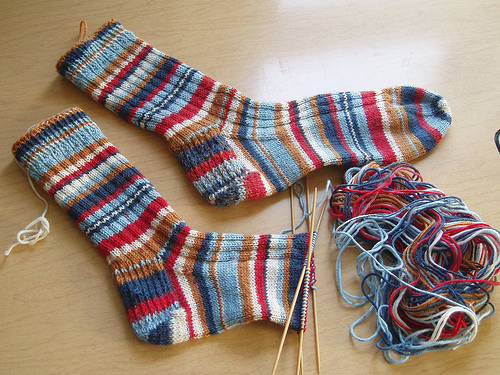 Knitting Socks : Thread paper quilting supplies yarn crafts