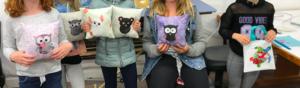 Spring Break - Owl (or other animal) pillow