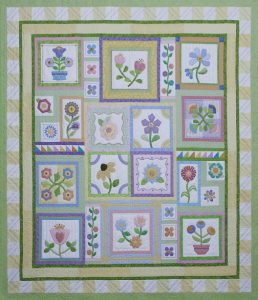 Stitcher's Garden Block of the Month