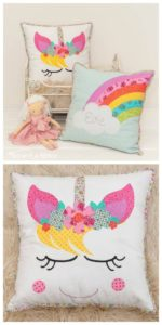 Unicorn Dreams Pillow (beginner applique)