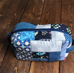 Quilt as you go pouch (experienced kids - adults)